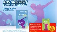 Heute und morgen: 65 Euro iTunes-Guthaben für 50 Euro
