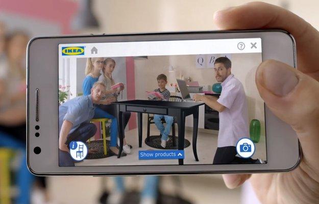 IKEA-App: Virtuelle 3D-Möbel in der eigenen Wohnung platzieren