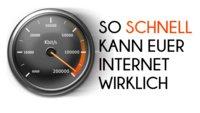 Speed Test: Internet-Geschwindigkeit testen - So schnell ist mein Internet wirklich