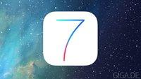 iOS 7 Gold Master veröffentlicht