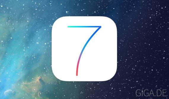 iOS 7 Beta 7: Release vermutlich noch heute Abend [UPDATE: Oder auch nicht]
