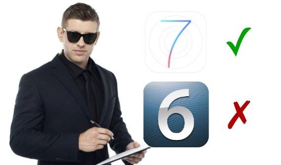 iOS 7: Hälfte der Apps setzen zukünftig die neueste iOS-Version voraus
