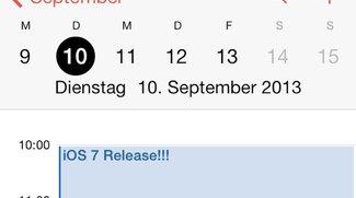 iOS 7 Release für den 10. September angekündigt