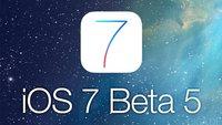 iOS 7 Beta 5 für Entwickler veröffentlicht