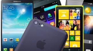 iPhone 5C Alternativen: Die 10 wichtigsten Apple-Konkurrenten