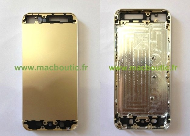 iPhone 5S: Bilder sollen goldenes Gehäuse zeigen