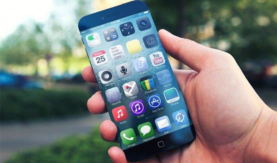 Klasse Design-Konzept: Das iPhone 6 mit einem rahmenlosen Display