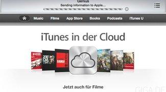 iTunes in der Cloud für Filme jetzt auch in Österreich und Schweiz