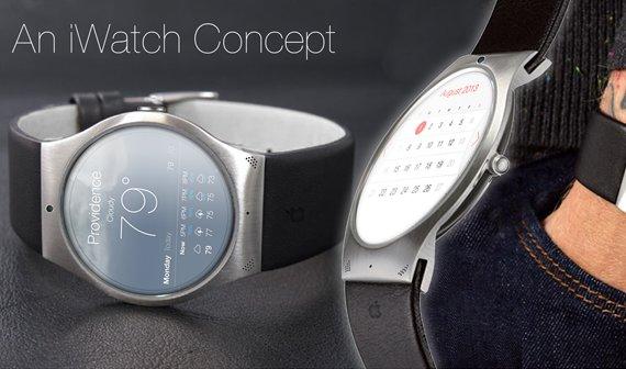 iWatch-Konzept: Ein rundes Display für die kleine Armbanduhr?
