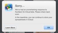iWork für iCloud: Apple begrenzt Zugang