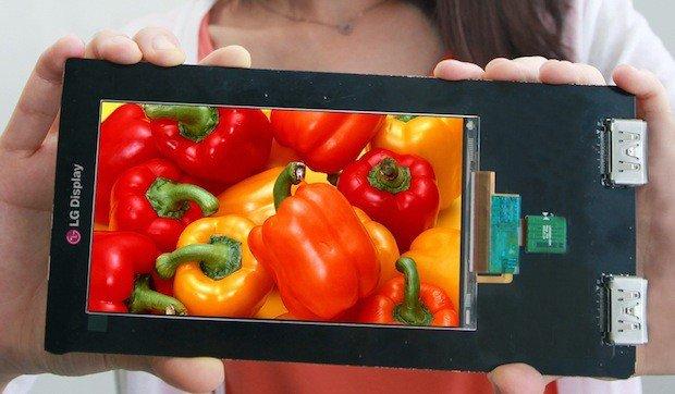 LG: Erstes Quad-HD-Display für Smartphones vorgestellt