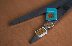 Nano-und Micro-SIM-Schablone:...