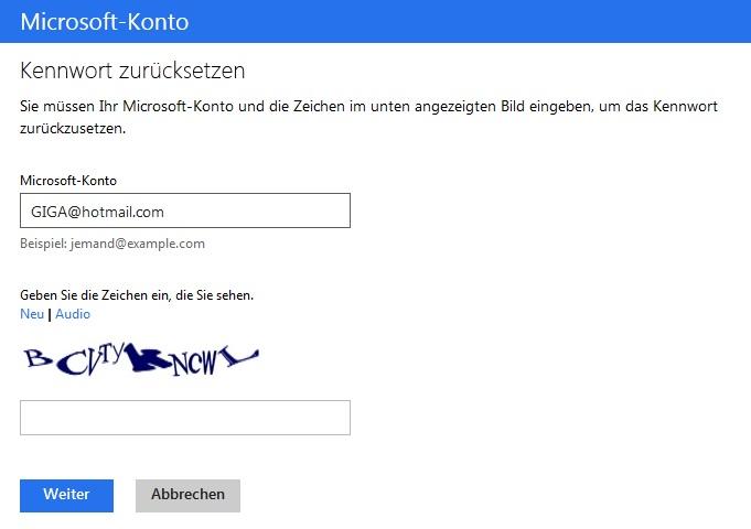 Windows 8 / Windows 10: Passwort vergessen - So kommt ihr