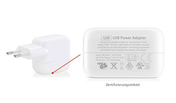 USB-Netzteile: Apple startet Rücknahmeprogramm in Deutschland