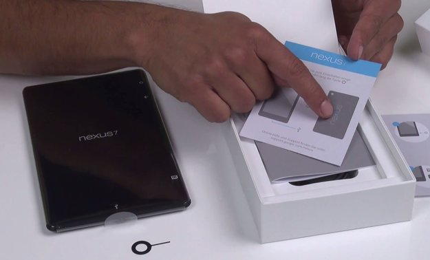 Nexus 7 (2013) LTE: Deutsches Modell im Unboxing [Video]