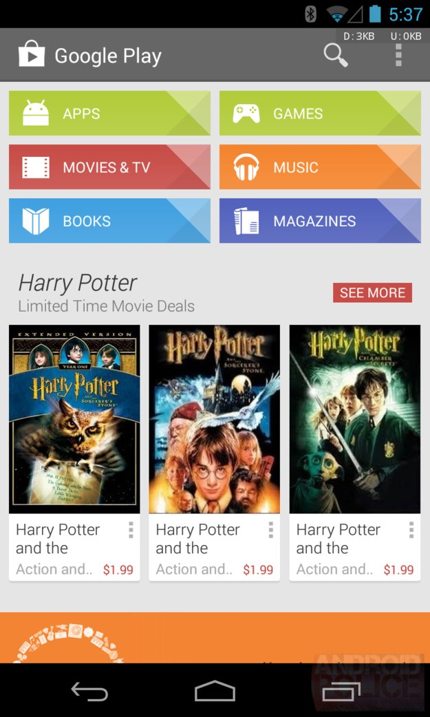 Play Store 4.3.10 - neue Version mit einigen Änderungen