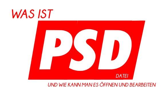 PSD-Datei öffnen und bearbeiten - So funktioniert's