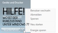 Ruhezustand in Windows 7 aktivieren & deaktivieren – so geht's