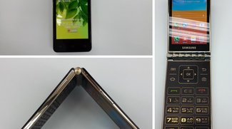 Samsung Galaxy Folder: Bilder des Klapp-Androiden geleakt