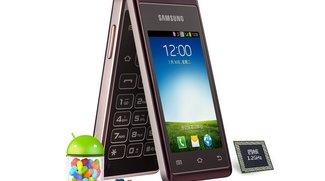 """Samsung Galaxy Folder """"Hennessy"""": Quad Core-Klapphandy als SCH-W789 für China vorgestellt"""