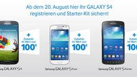 Samsung Galaxy S4, S4 active, S4 mini: Gratis-Zubehör dank Starter-Kit-Aktion [UPDATE]