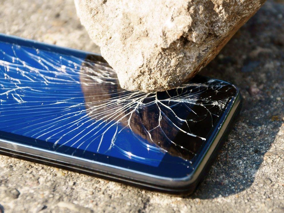 Die miesesten Smartphone-Schäden (Bilderstrecke)