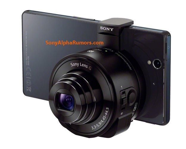 Sony Lens G: Aufsteckkameras für Smartphones geleakt