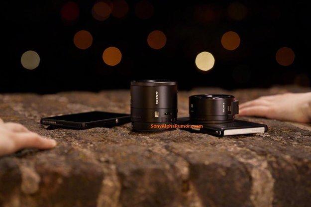 Sony QX10 und QX100: Preise für die Aufsteckkameras bekannt
