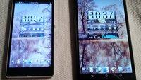 Sony Xperia Z Ultra: Brilliert im Display-Vergleich mit Sony Xperia Z