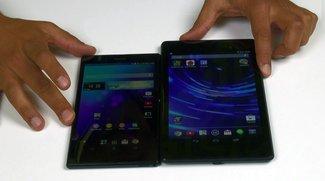 Nexus 7 (2013) vs. Sony Xperia Z Ultra: Benchmarks und Vergleich [Video]