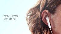 Sprng: EarPods-Klammer für festeren Halt im Ohr