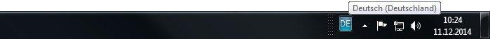 taskleiste-tastatursprache deutsch-giga