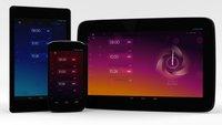 Timely: Schicke Android-Uhr mit Wecker und Timer im Holo-Design
