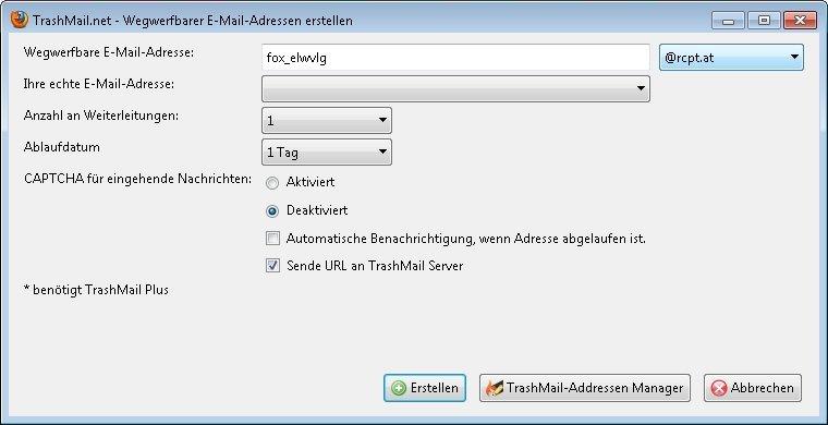 d3d37f41c8babb Wegwerf-E-Mails – Anbieter und Funktionen