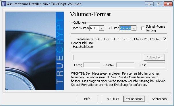 truecrypt ntfs