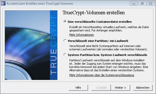 truecrypt verstecktes volumen 01