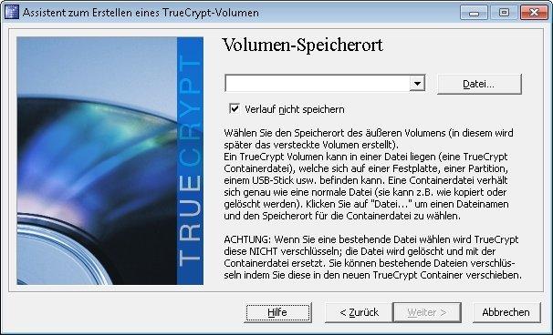 truecrypt verstecktes volumen 04