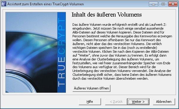 truecrypt verstecktes volumen 08