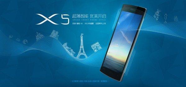 Umeox X5: Dünnstes Smartphone der Welt kommt nach Europa