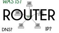 Was ist ein Router: IP, DNS, Gateway - Begriffsklärungen