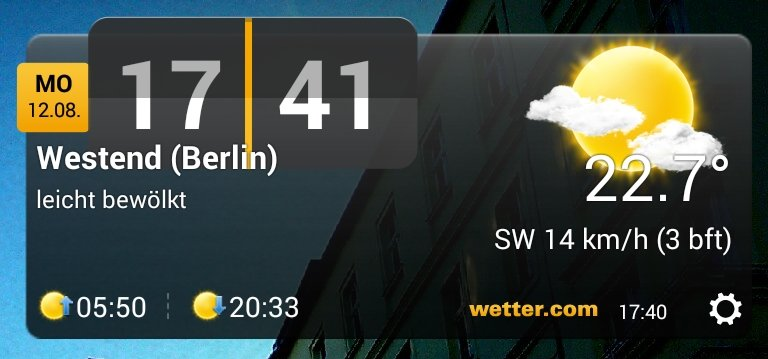 Wetter.com gehört zu den bekanntesten Wetter-Apps.