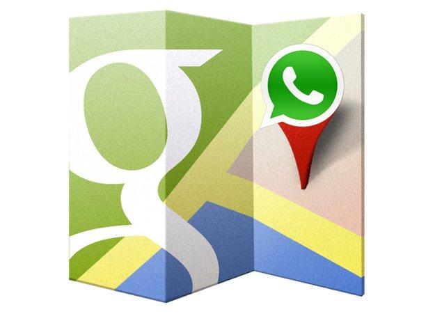 WhatsApp: Neues Update behebt Problem mit Google Maps