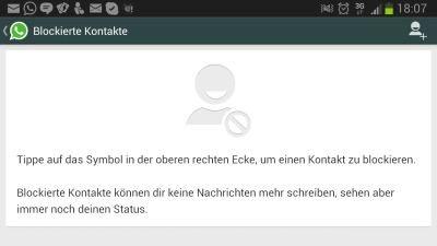 Dibpodiszi Whatsapp Blockierte Kontakte Nachrichten Lesen