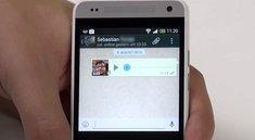 WhatsApp: So funktionieren die neuen Sprachnachrichten [Video]