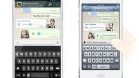 WhatsApp-Messenger: Simple Push-to-Talk-Funktion kommt noch heute