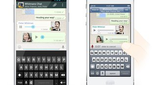 WhatsApp-Messenger: Simple Push-to-Talk-Funktion kommt noch heute