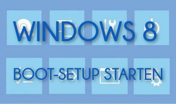 Windows 8 BIOS (UEFI): So gelangt ihr ins Firmware-Setup