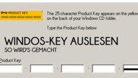 Windows-Key auslesen: Der Lizenzschlüssel zu XP, Vista und Windows 7