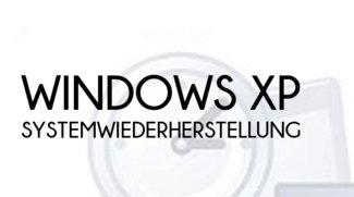 Windows XP: Systemwiederherstellung ausführen und eigene Punkte setzen
