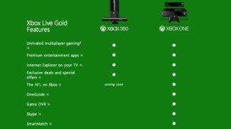 Xbox One: Videoaufzeichnung erfordert Gold-Mitgliedschaft